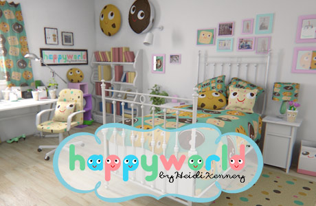 Happyworld by Heidi Kenney